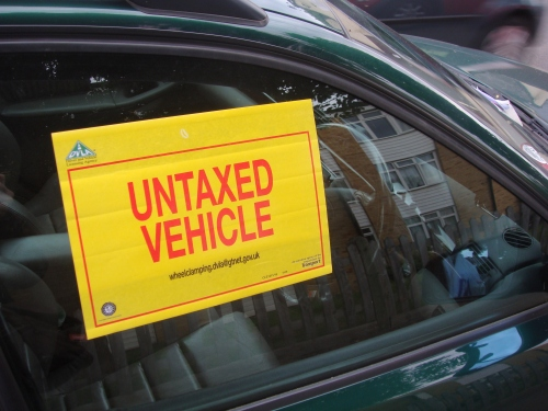 Gas Leak In Car >> Untaxed cars clamped – Teddington, Middlesex, UK