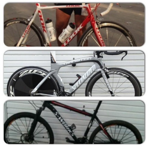 Bikes stolen from Teddington