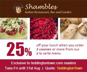 shambles restaurant Teddington