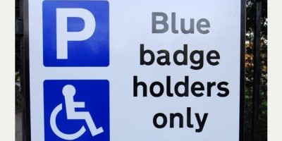 All Editions   With Raw Video   -   Story  Claudia  -   HU17   -   29-1-10   -   HU-70246K11   -   The new Blue badge signs at Queensgate cemetery, Beverley.    PICTURE: Peter Harbour.