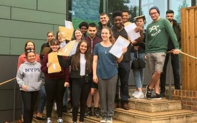 School Sixth Forms Celebrate A-Level Success