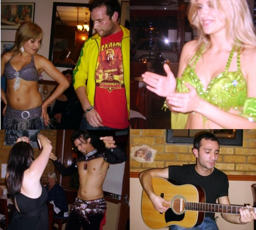 Diners Delight Teddington Belly Dancing and Music