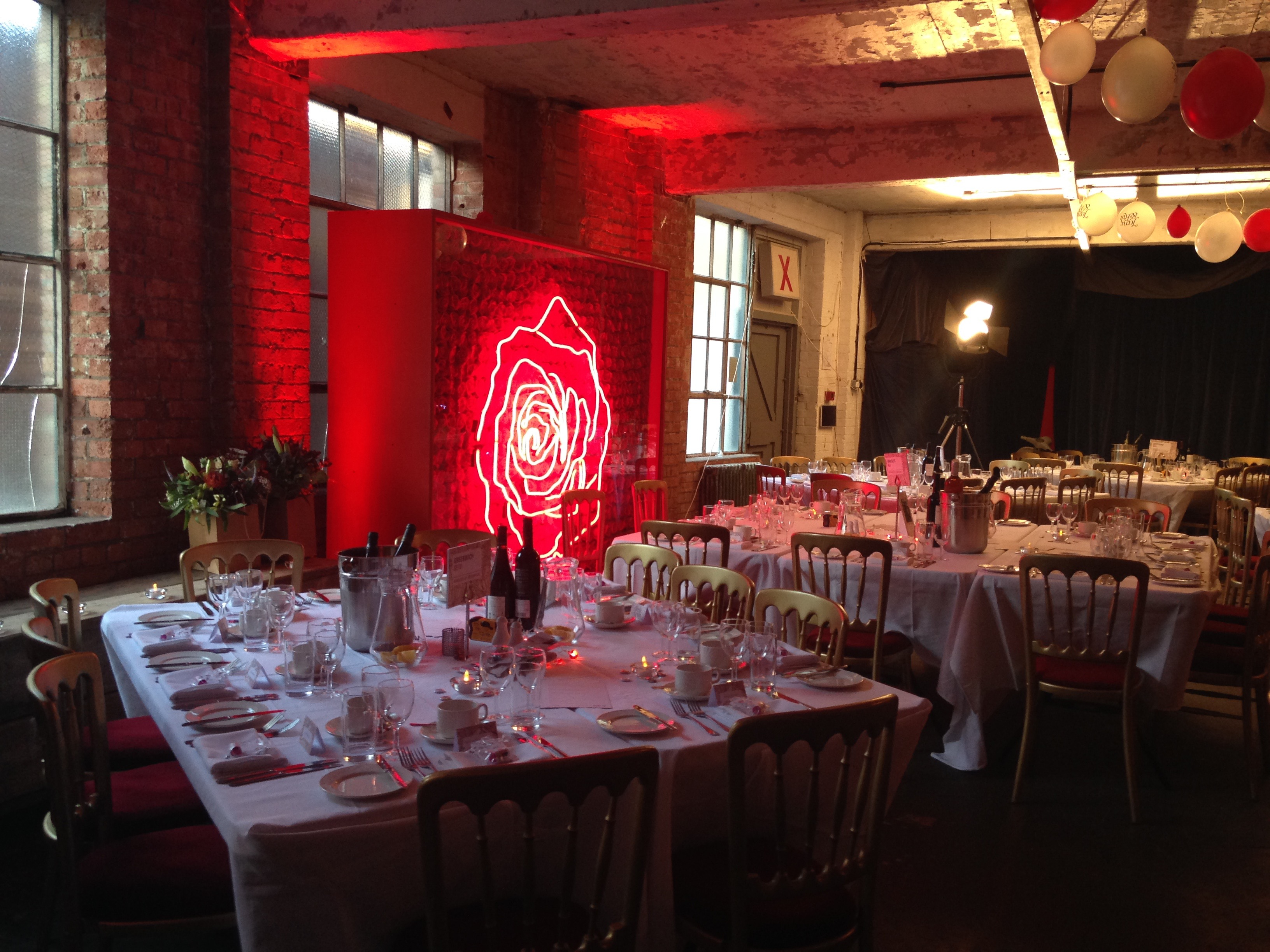Warehouse Wedding Event by Do Events