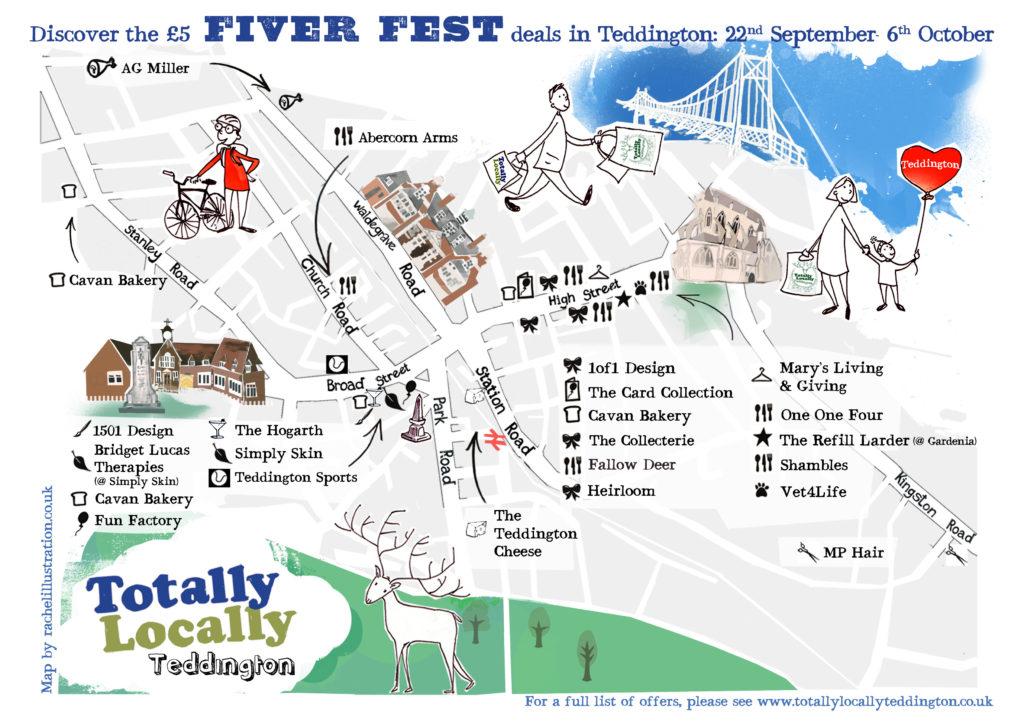 Fiver Fest Map