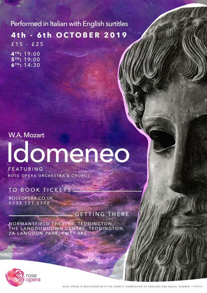 Mozart's Idomeneo Normansfield Theatre Teddington