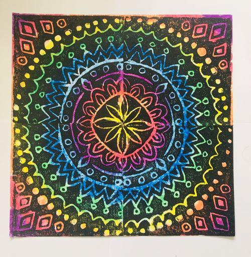 Kaleidoscope Prints Workshop Teddington Landmark Arts Centre