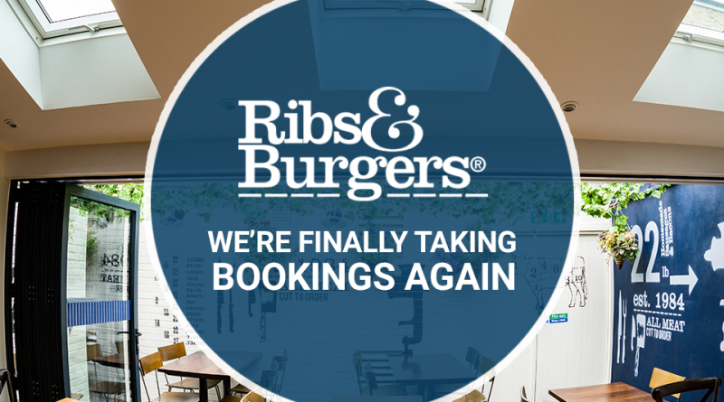 Ribs & Burgers have RE-OPENED!