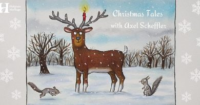 Christmas Tales With Axel Scheffler, Illustrator Of The Gruffalo