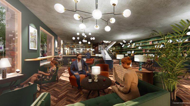 ARCHITECTURE: WK DESIGNS DREAM CINEMA IDEA FOR TEDDINGTON